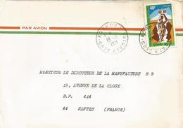 Cote D'Ivoire 1971 Korhogo Political Party Congress Cover - Ivoorkust (1960-...)