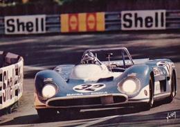 24 HEURES DU MANS 1971 - Jean-Pierre Beltoise - Matra 660 Prototype 3 Litres - Le Mans