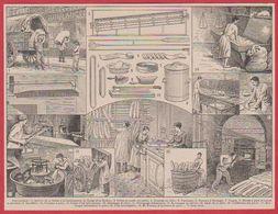 Boulangerie. Matériels. Fabrication Du Pain. Larousse 1920. - Vieux Papiers