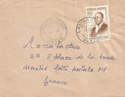 Gabon 1962 Lambarene President Leon Mba 25f Cover - Gabon (1960-...)