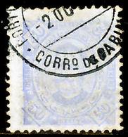 !■■■■■ds■■ Congo 1894 AF#07ø King Carlos Neto 50 Réis 11,5 (x2425) - Congo Portuguesa
