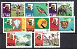 Zaire 1979 Mi.nr: 589-596 Flussexpedition Auf Dem Zaire  Neuf Sans Charniere / MNH / Postfris - Zaïre