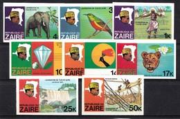 Zaire 1979 Mi.nr: 589B-596B Flussexpedition Auf Dem Zaire  Neuf Sans Charniere / MNH / Postfris - Zaïre