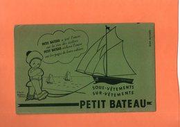 """BUVARD. SOUS-VETEMENTS   """" PETIT BATEAU """"  Achat Immédiat - Textile & Clothing"""