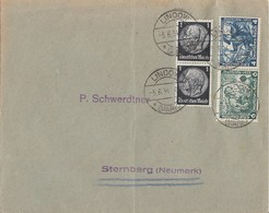 DR Brief Mif Minr.2x 512, Zdr. Minr.W47 Lindow 5.6.34 - Briefe U. Dokumente