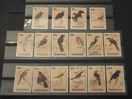 BAHAMAS - 1991 UCCELLI 15 + 1 VALORI - NUOVI(++) - Bahamas (1973-...)