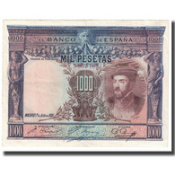 Billet, Espagne, 1000 Pesetas, 1925, 1925-07-01, KM:70a, TTB - [ 1] …-1931 : Premiers Billets (Banco De España)