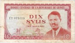 Guinea - Guinee 10 Sylis 1980 Pk 23 A Ref 10 - Guinea