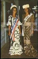 1970 POSTCARD GIRL GIRLS MISS THAITI CONTEST CARTE POSTALE - Pin-Ups