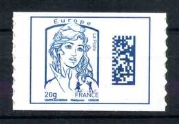 ADHESIF N° 1176 DATAMATRIX EUROPE DE FEUILLE AVEC LE GRAMMAGE 20 Gr NEUF** - 2013-... Marianne De Ciappa-Kawena