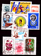 Siria-00125 - Valori Del 1981-82 (o) Used - Senza Difetti Occulti. - Siria