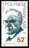 POLYNESIE 1989 - Yv. 337 **   Faciale= 0,44 EUR - Révérend Père O'Reilly  ..Réf.POL24001 - Polynésie Française