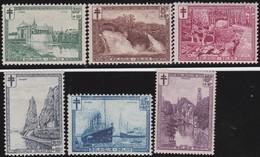 Belgie   .  OBP  .   293/298     .    **   .     Postfris    .  /   .  Neuf Sans Charniere - Belgique