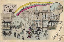 1899 - Plzen , ZUKUNFT , Gute Zustand, 2 Scan - Czech Republic