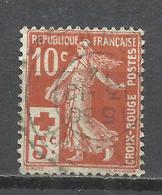 206E-SELLO CRUZ ROJA FRANCIA 1914 1ª GUERRA MUNDIAL Nº147. 4,00€ YVERT.BONITO.FRANCE SELLO CLASICO - Francia