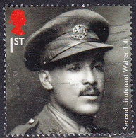 2018   Centenary Of The First World War (5th Issue) - Walter Tull1st - 1952-.... (Elizabeth II)