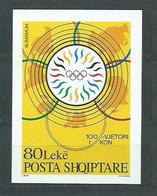 Albania Hojas 1994 Yvert 79 ** Mnh Comite Olimpico - Albania