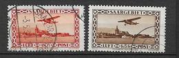 1932 USED Saargebiet, Mi 158-59 - 1920-35 League Of Nations
