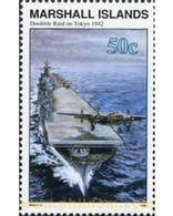 Ref. 342553 * MNH * - MARSHALL Islands. 1992. RAID S. TOKIO - Aerei
