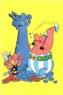 Asterix En Obelix,  Stripfiguren Uit De PEP (het Raster Op De Kaart Is Veroorzaakt Door Het Scannen;) - Bandes Dessinées