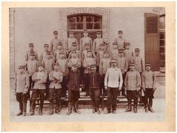 8è REGIMENT DES HUSSARDS    PHOTO OFFICIELLE AVEC GRADE MEDAILLE - Guerre, Militaire