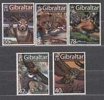 Gibraltar - Correo 2007 Yvert 1220/4 ** Mnh Fauna Prehist�rica - Gibraltar
