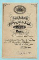 AALST (geen Postkaart) - Collège De La Compagnie De Jésus - Prix De Version Latine - 1902 - Aalst