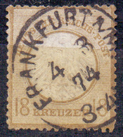 GERMANY  REICH - ADLER  Mi. 11 - 1872 - Oblitérés