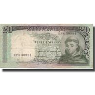 Billet, Portugal, 20 Escudos, 1964, 1964-05-26, KM:167b, TB+ - Portugal
