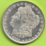 Monnaie Etats Unis One Dollar 1881 Morgan 19 GRAMMES D ARGENT DIAMETRE 38 MM N051 - Andere