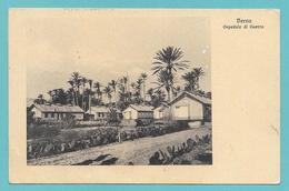 LIBIA LIBYA DERNA OSPEDALE DI GUERRA 1912 - Libia
