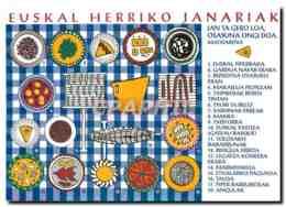 CPM Euskal Herriko Janariak - Cartes Postales