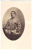 HUSSARD DU 8è REGIMENT  1908   CARTE PHOTO - Guerre, Militaire