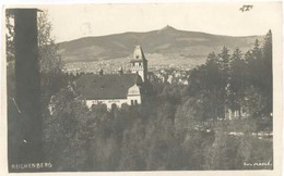 Liberec / Reichenberg,  (anno 1921) (originele Fotokaart / Real Photo PostCard RPPC)  ( 2 X Scan) - Tsjechië