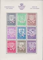 Belgie   .  OBP      .      Blok 10      .    **   .     Postfris    .  /   .  Neuf Sans Charniere - Bloques 1924 – 1960