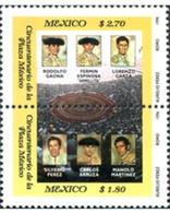 Ref. 5385 * MNH * - MEXICO. 1996. 50 ANIVERSARIO DE LA PLAZA DE TOROS DE LA CIUDAD DE MEXICO - Francobolli