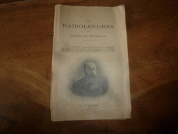 1926 Les RADIOLEVURES Ou MULTILEVURES RADIOACTIVES  Par G. Jacquemin  (à L'Institut De Malzéville); Vinification ; Etc - Livres, BD, Revues