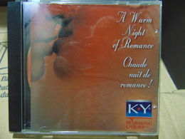 Artistes Variés- A Warm Night Of Romance  (KY Brand Promo Disc) - Music & Instruments