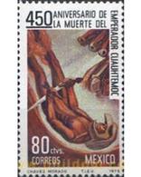 Ref. 182509 * MNH * - MEXICO. 1975. 450 ANIVERSARIO DE LA MUERTE DE CUAUHTEMOCS - Arts