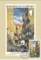 GUERNSEY - MiNr: 216   Maxicard Gemälde Peter Le Lievre - Guernsey