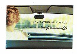 SIMCA Invitation Au Voyage LES ARIANES 60 Ariane 4 Ariane 8 Superluxe - Voitures