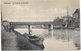 Tamines NA13: Le Pont De La Sambre 1913 - Sambreville