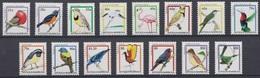 Antigua And Barbuda 1995 Birds Fauna  Set Of 15v MNH - Otros