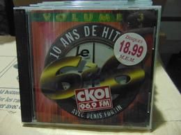 Artistes Variés- 10 Ans De Hit :le 6 à 6 De CKOI FM,volume 3 - Musik & Instrumente