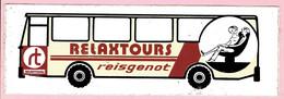 Sticker - RELAXTOURS - Reisgenot - Autocollants