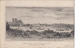 """CPA Paris - Série """"Ancien Paris"""" - Vue Sur La Seine Sous Louis XV - Frankreich"""
