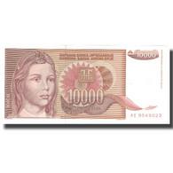 Billet, Yougoslavie, 10,000 Dinara, 1992, 1992, KM:116b, SPL - Yougoslavie