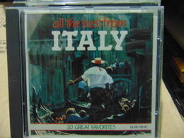 Artistes Variés- All The Best From Italy - Musik & Instrumente