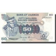 Billet, Uganda, 50 Shillings, Undated (1973), 1977, KM:8c, SUP - Ouganda