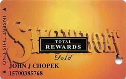 Showboat Casino - Atlantic City NJ - Total Rewards Gold @2004 Slot Card - Casino Cards
